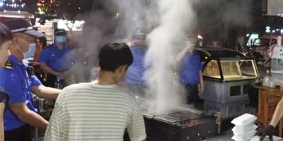 露天烧烤、油烟污染?江苏省盐城响水城管:重拳整治