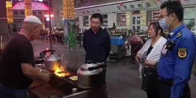 酒泉市瓜州县加全面整治烧烤餐饮业油烟污染